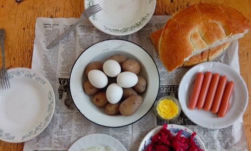 """Tələbələrin Ən Çox Yedikləri: Makaron, Kartof-Yumurta Soyutması, """"Qreçka"""""""