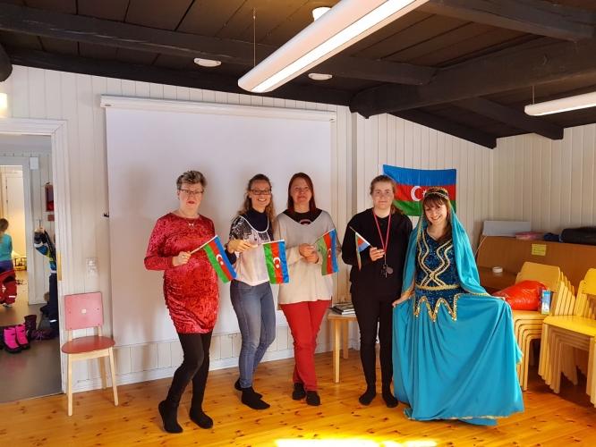 Finlandiya Uşaq Hüquqları Müdafiə Mərkəzində Novruz şənliyi keçirilib