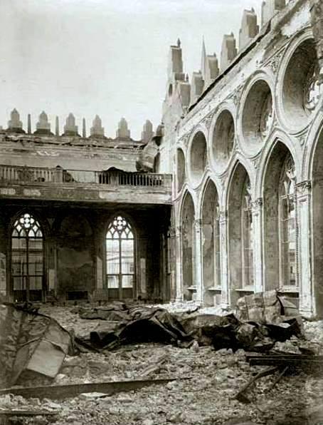31 Mart faciəsində dağıdılan bu bina hazırda əsas elmi müəssisədir