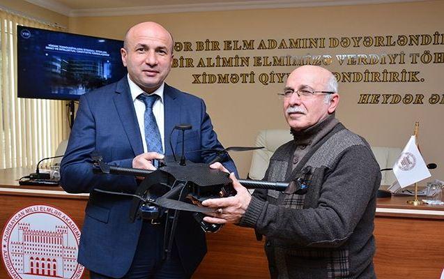 AMEA-nın elmi müəssisə və təşkilatları dronlarla təmin ediləcək