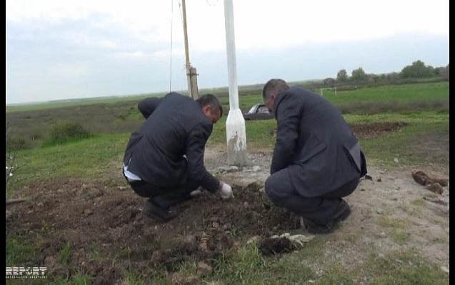 Cəlilabadda Orta əsrlərə aid olduğu ehtimal edilən kurqan aşkarlanıb - FOTOLAR