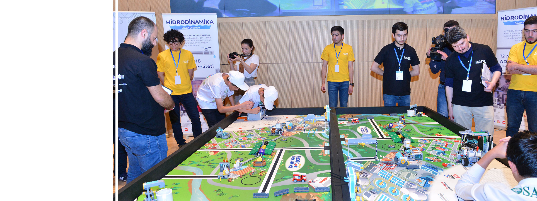 Mühəndislik və robototexnika yarışı keçirilib