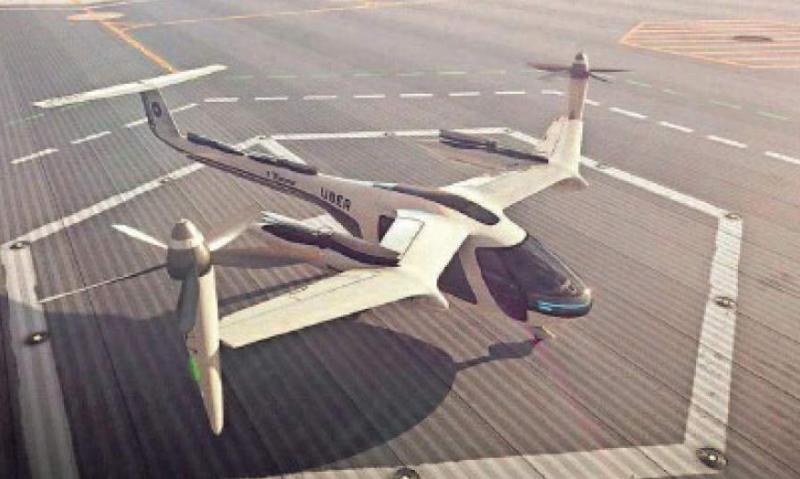 Uçan taksi prototipi nümayiş olunub