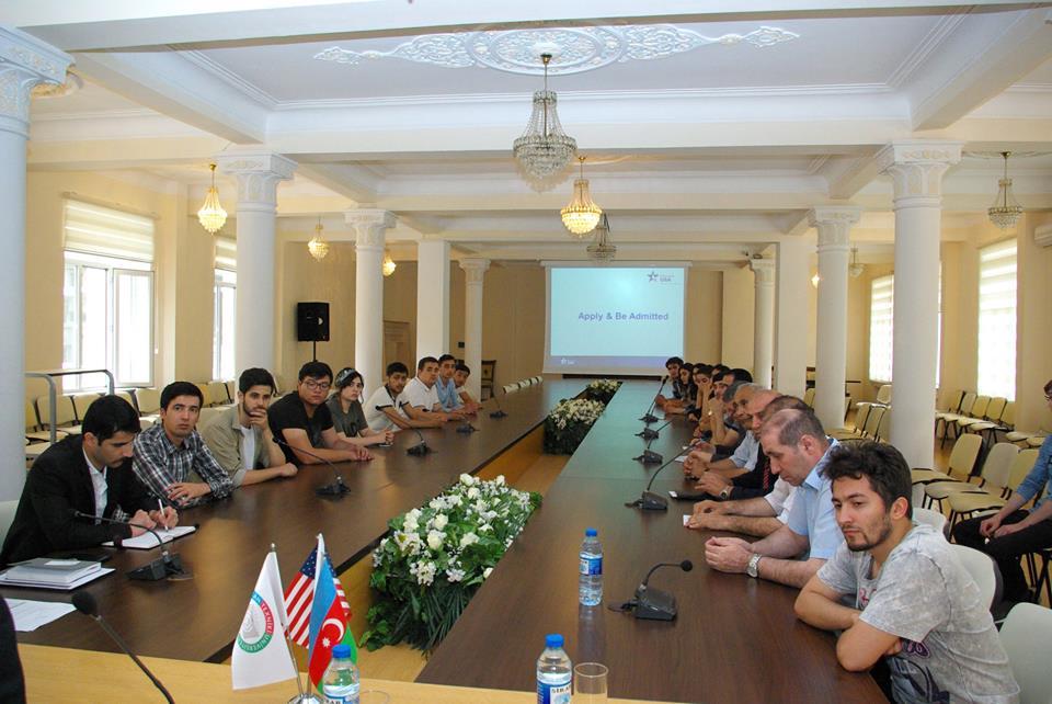 AzTU-daABŞ-da təhsil proqramlarının təqdimatı keçirilib
