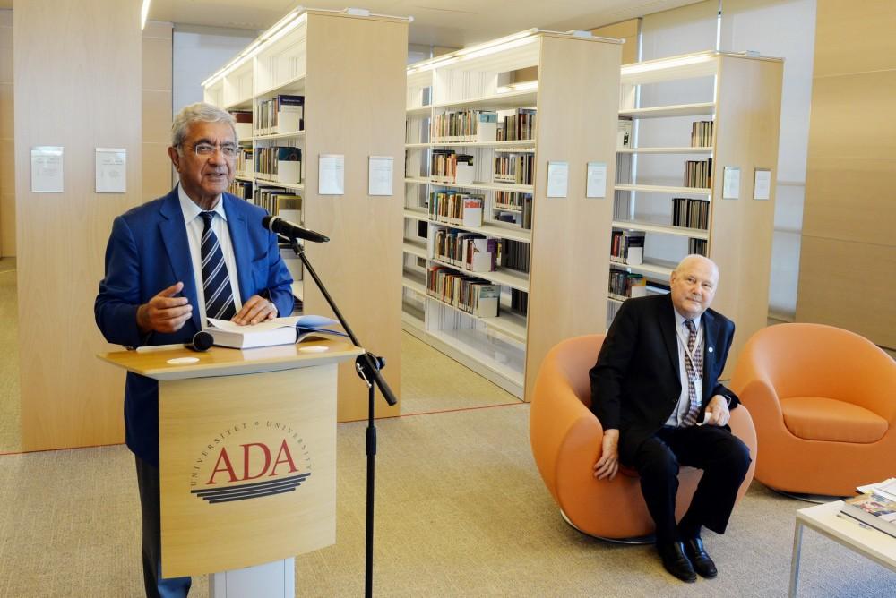 ADA-da S.Frederik Starın kitabının təqdimatı keçirilib