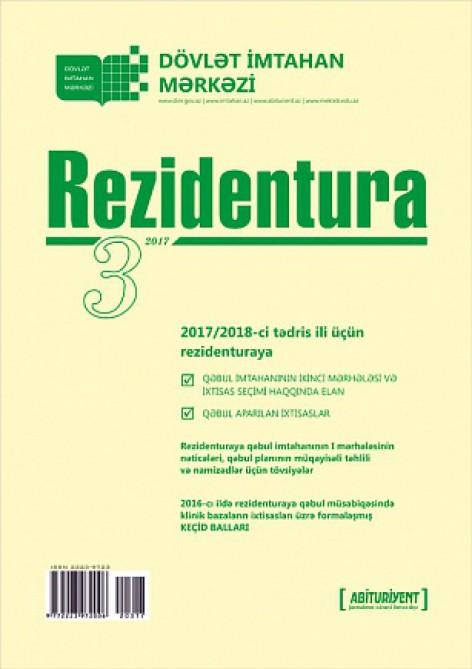 """""""Rezidentura"""" xüsusi buraxılışının 3-cü nömrəsi nəşr edilib"""