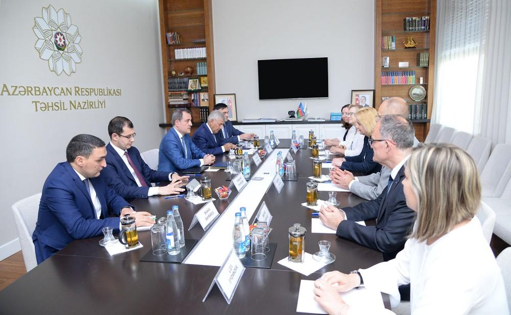 Ceyhun BayramovAvropa Komissiyasının nümayəndə heyyətilə görüşüb - FOTO