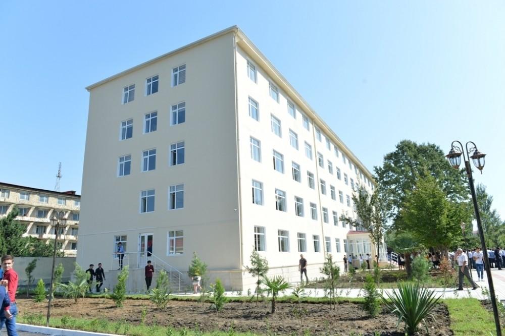 Tələbələrə müjdə! – Lənkəran Dövlət Universitetində yeni yataqxana binasının inşasına başlanıldı