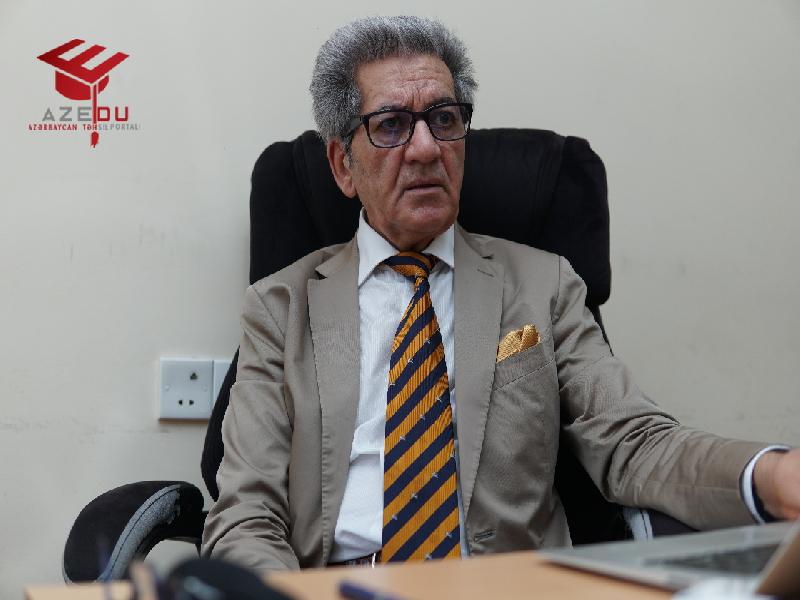"""Güney Azərbaycandan olan professor – """"Bizə diplomlu mühəndis yox, iş bacaran adam lazımdır"""" -ANONS"""