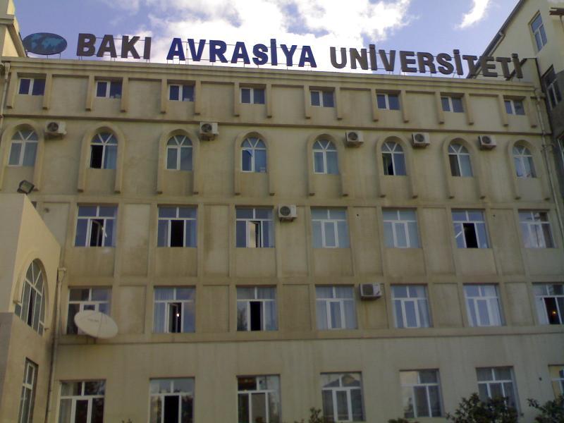 """BDU-nun professoru: """"Avrasiya Universiteti özəl ali məktəblərimiz içində ən mükəmməlidir"""""""