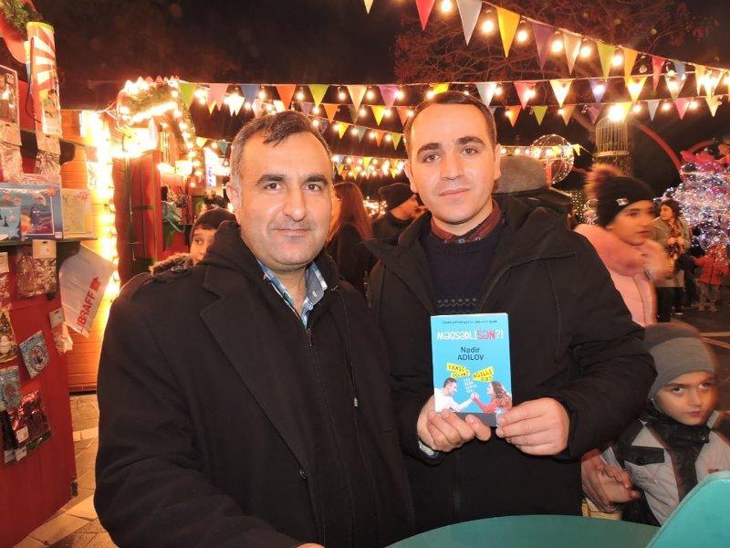 Nadir Adilovun yeni kitabının imza günü keçirilib - AzEdu.az-la ortaq kampaniya olacaq