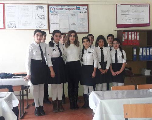 """""""Müəllimlərimə baxıb onlar kimi olmaq istəmişəm"""" -Örnək"""