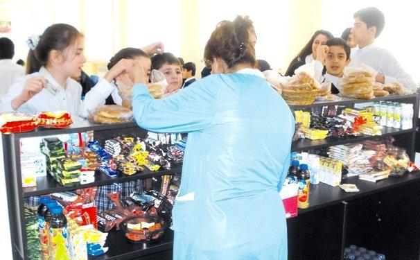 Məktəb bufetlərində satışı qanunla qadağan olunan qidalar - SİYAHI