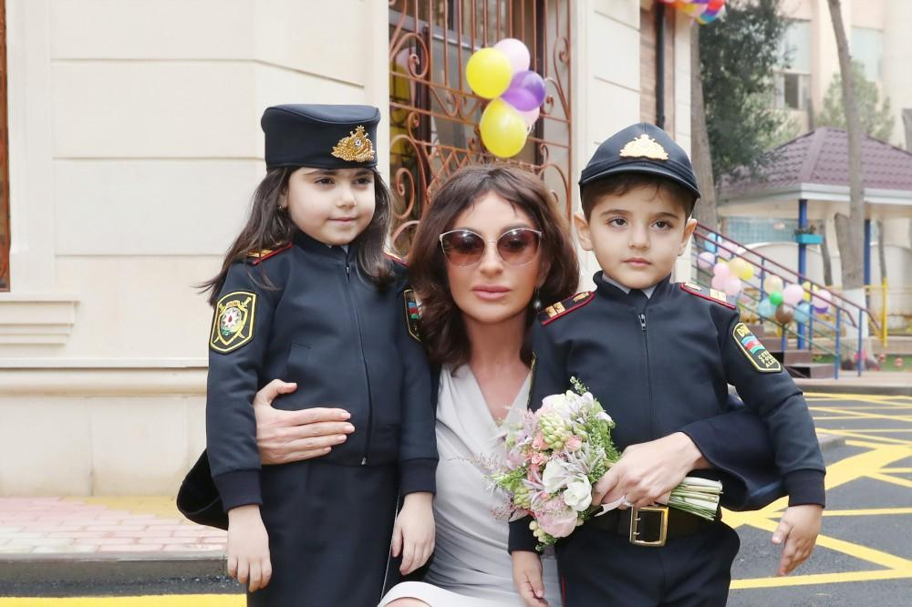 Mehriban Əliyevauşaq bağçasının açılışında- FOTOLAR