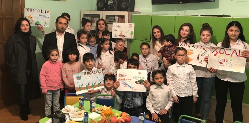 Dövlət Komitəsinin əməkdaşları uşaq sığınacağını ziyarət edib