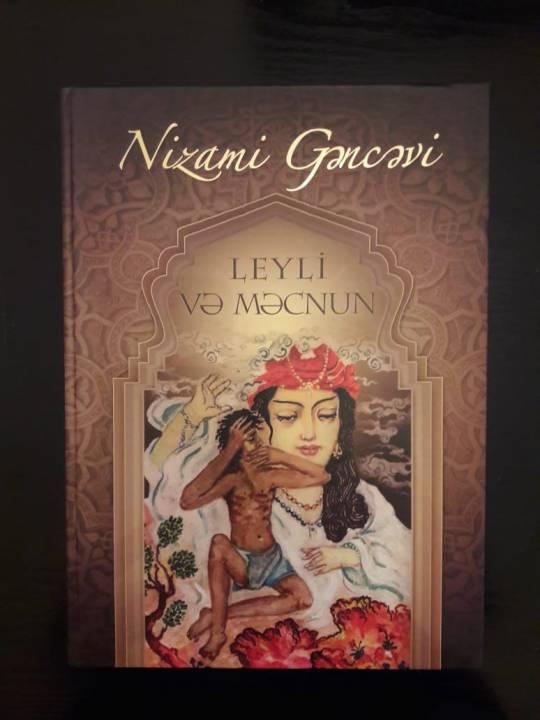"""Nizami Gəncəvinin """"Leyli və Məcnun"""" poeması çapdan çıxdı"""
