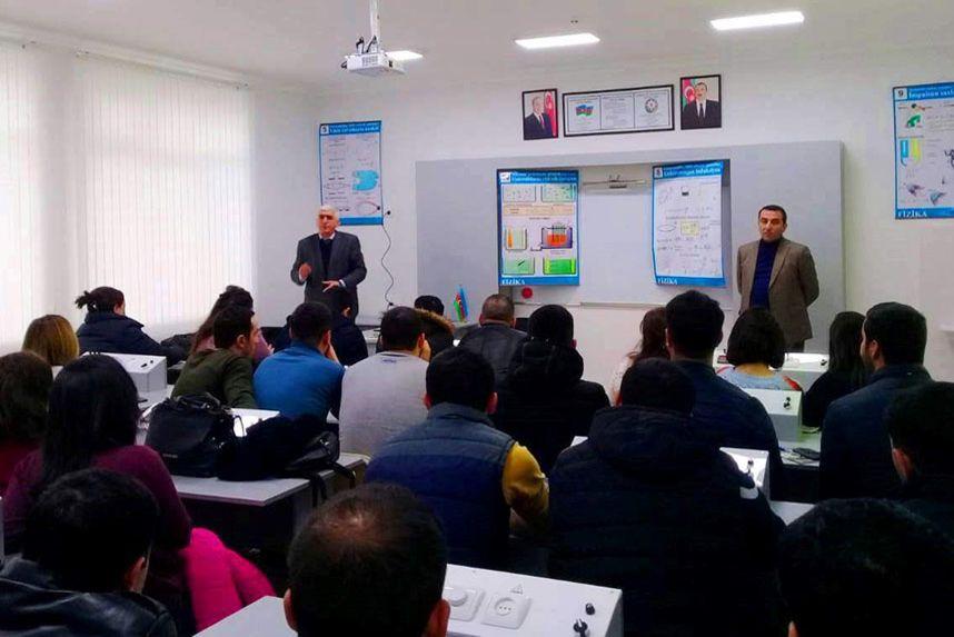 Fiziki tərbiyə müəllimləri üçün seminarlar keçirilib