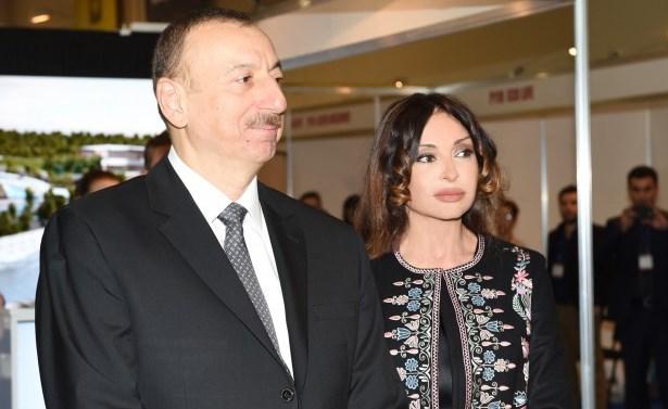 Prezident və xanımı Şamaxıda körpələr evi-uşaq bağçasının açılışını etdi