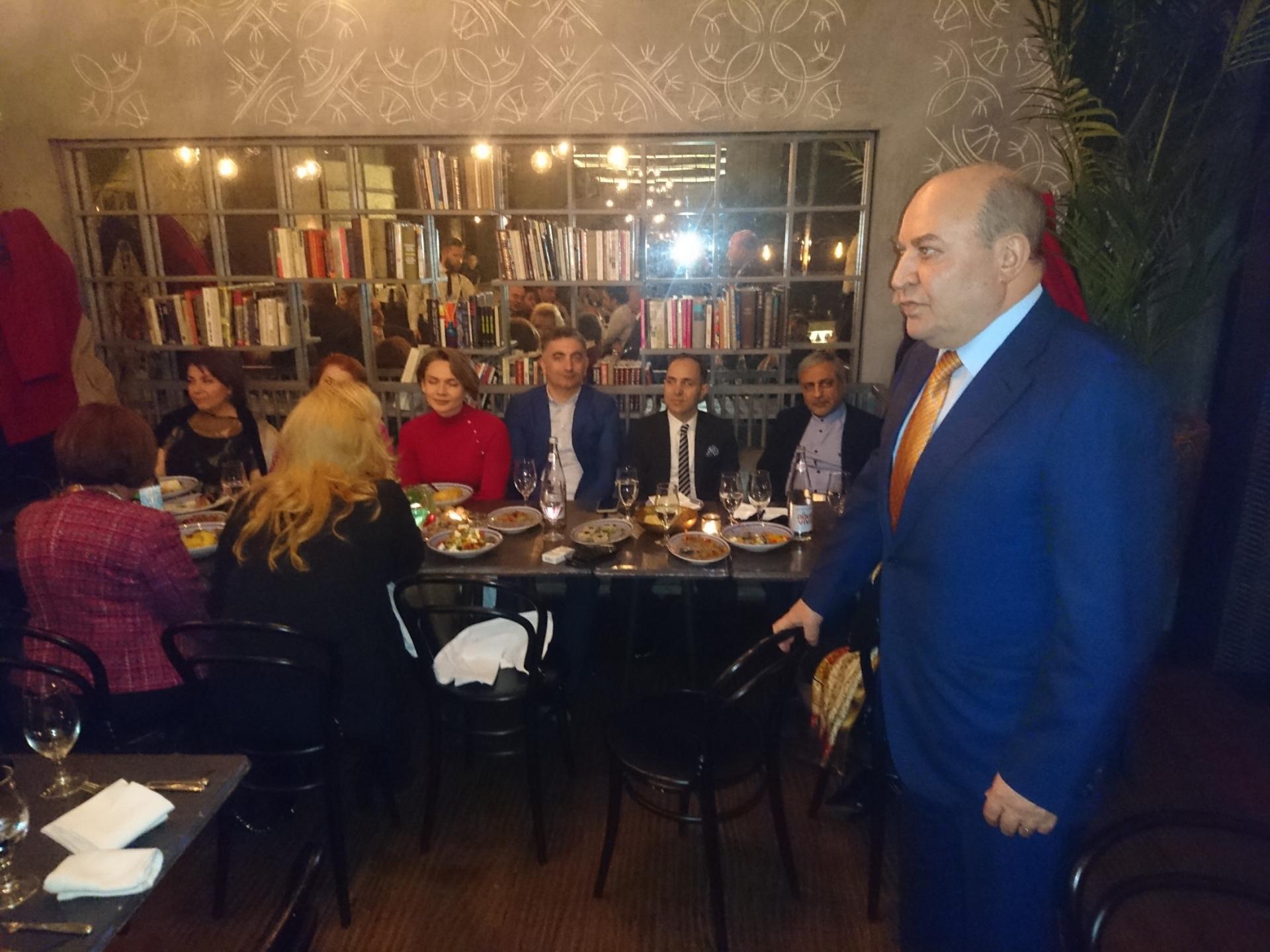 Serbiyada təhsil alan azərbaycanlılar Novruz bayramını qeyd ediblər