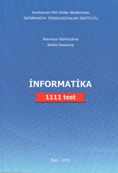"""""""İnformatika. 1111 test"""" adlı vəsait nəşr olunub"""