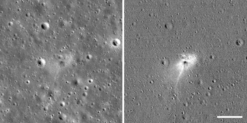 NASA Ayda kosmik gəminin qəzaya uğradığı yeri tapdı