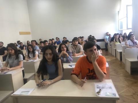 Azərbaycan təhsilin SABAH-ı – Ən güclülər arasında olmaq üçün verilən imtahan - FOTO