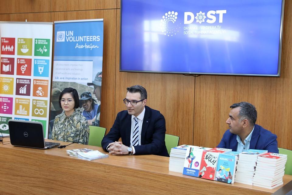 Nadir Adilovdan DOSTyana addım – İşgüzar kitabların təqdimatı keçirildi - FOTO
