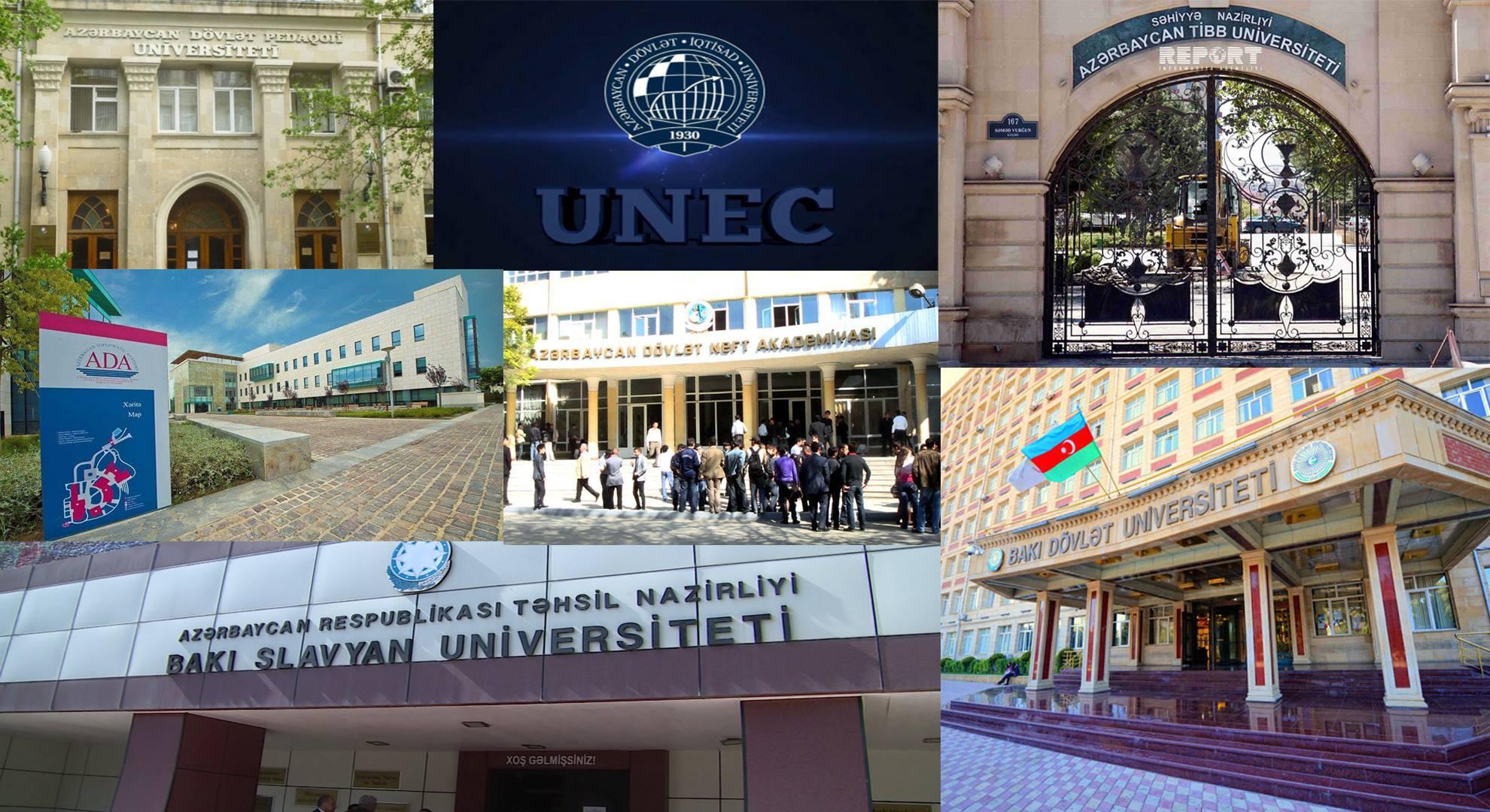 Məzunları magistraturaya ən çox qəbul olunan universitetlərin adları açıqlandı