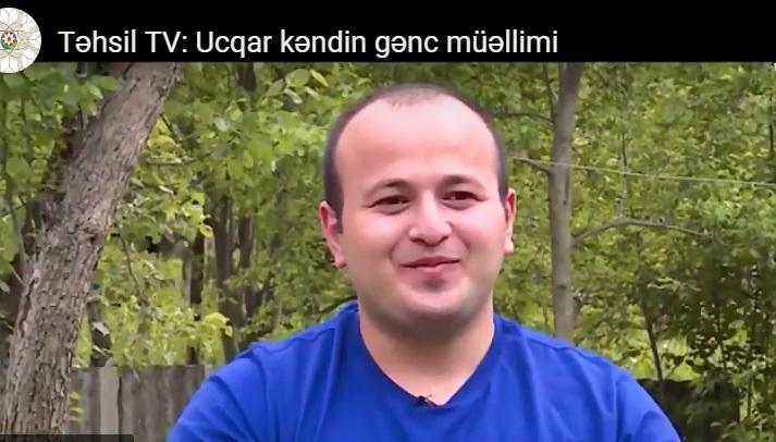 Ucqar kəndin gənc müəllimi - VİDEO