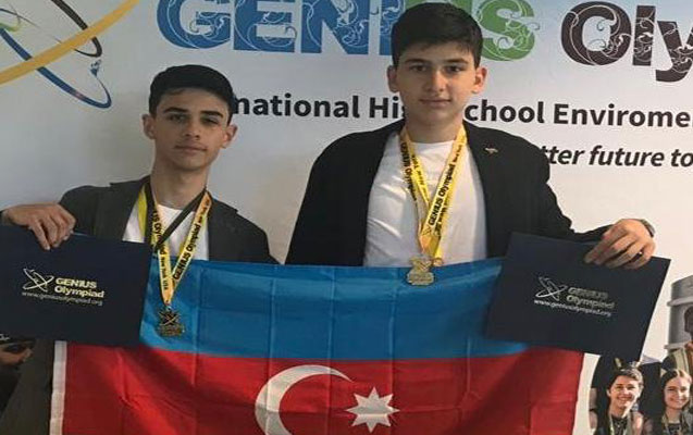 Azərbaycanlı şagirdlər ABŞ-da birinci oldular