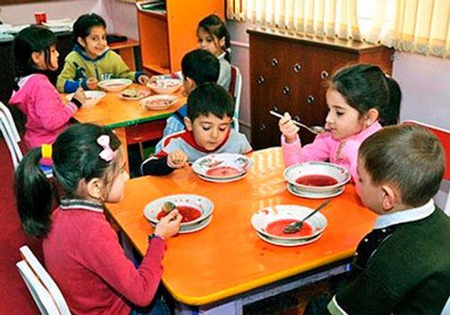 Bağçalarda monitorinqlər aparılacaq - Uşaqların düzgün qidalanması ilə bağlı