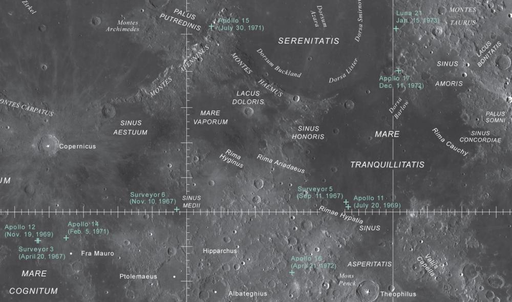 Alimlər Ayın müfəssəl xəritəsini hazırladılar