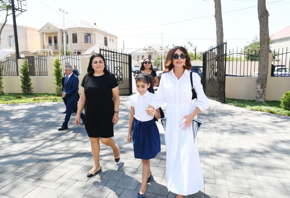 Mehriban Əliyeva körpələr evi-uşaq bağçalarının açılışında - FOTO