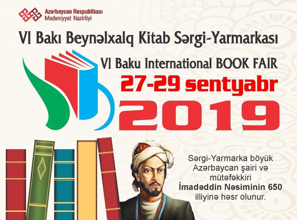 VI Bakı Beynəlxalq Kitab Sərgi-Yarmarkasından VİDEO