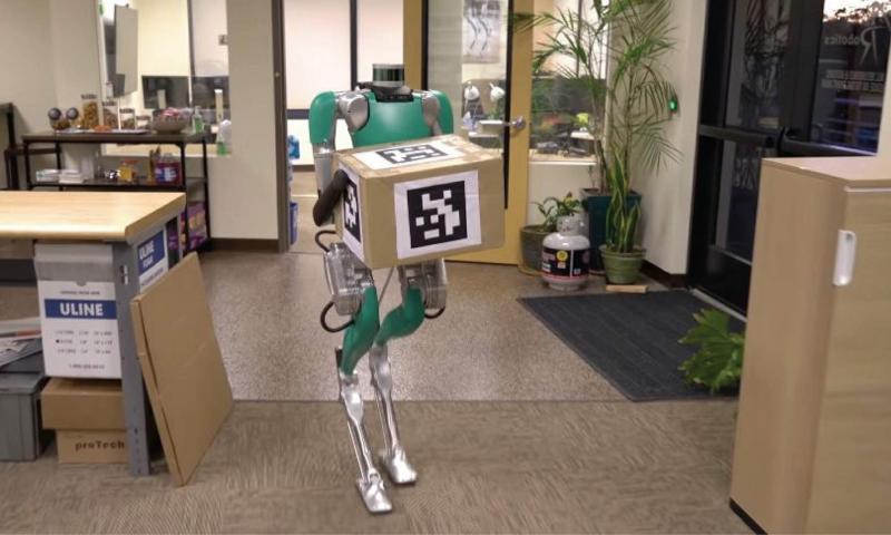 """""""Agility Robotics"""" şirkətində robot-kuryer işləməyə başlayıb"""