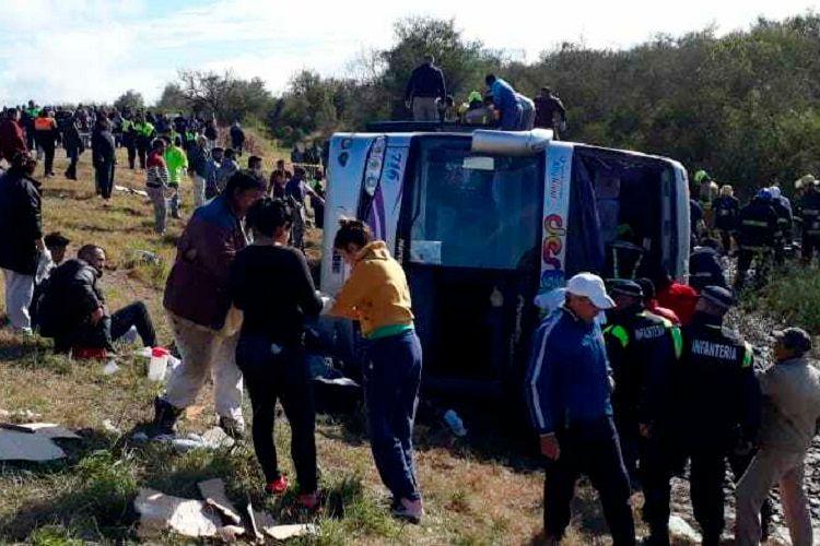 Argentinada məktəb avtobusu qəzaya uğrayıb, ölənlər var