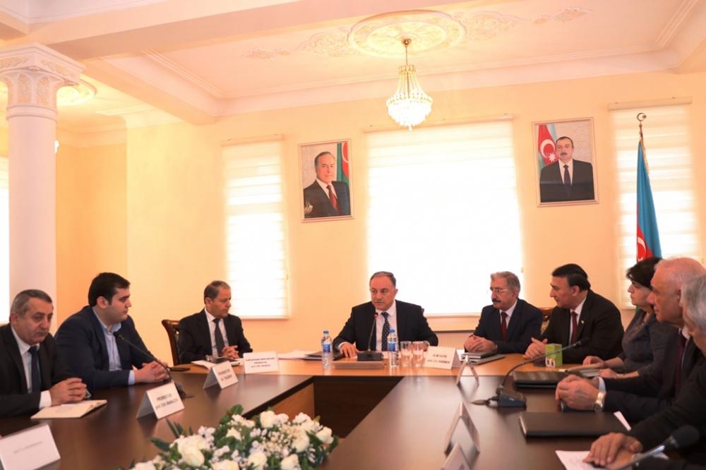 AzTU Milli Aerokosmik Agentliyinin Ekologiya İnstitutu ilə əməkdaşlıq müqaviləsi imzalayıb