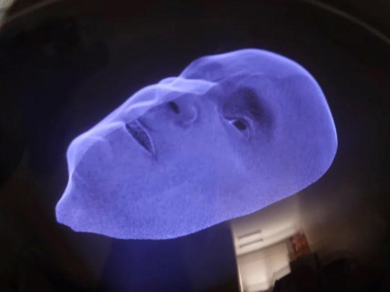 Eynəksiz 3D görüntü verən holoqrafik masa