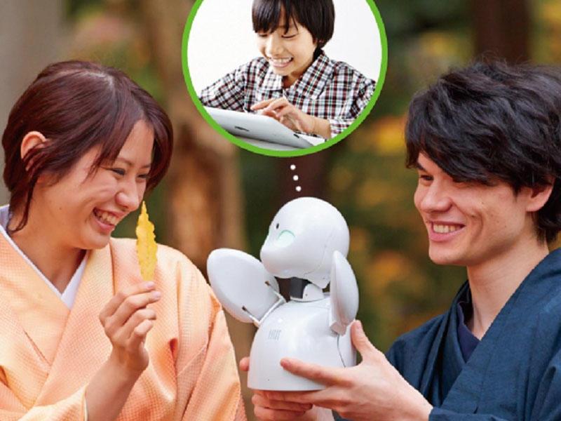 Yaponiyada xəstələnmiş uşaqlar məktəbə robot göndərir