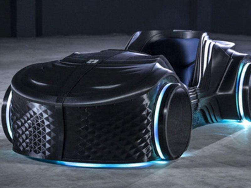 3D printerdə çap olunan idman elektrik avtomobili yaradılıb