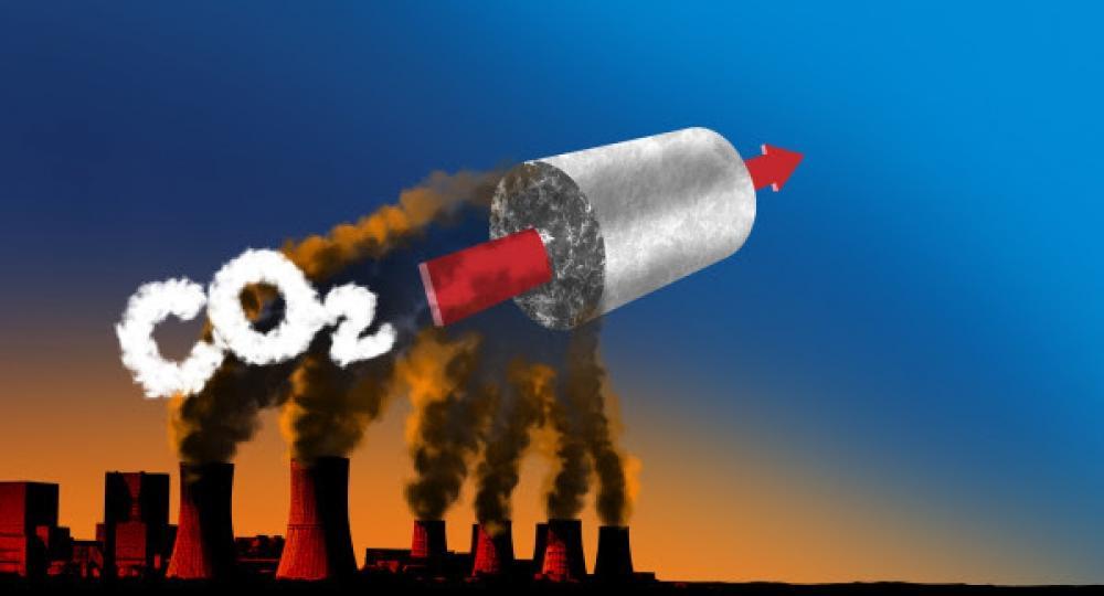 İsveçli tədqiqatçılar karbon qazının parçalanması üçün yeni material işləyib hazırlayıblar