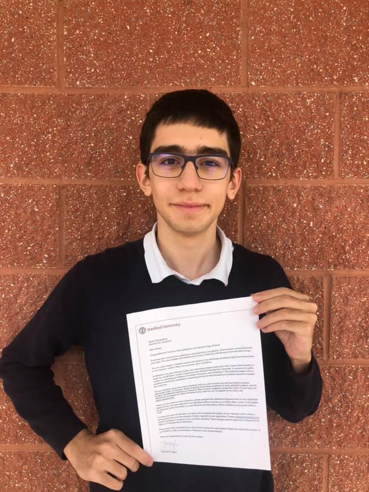 15 yaşlı azərbaycanlı vunderkind nüfuzlu ABŞ universitetinə qəbul oldu