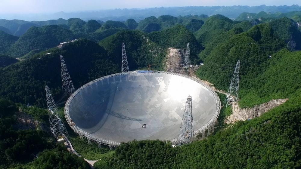 Çində dünyanın ən böyük və ən həssas radioteleskopu rəsmən istifadəyə verilib