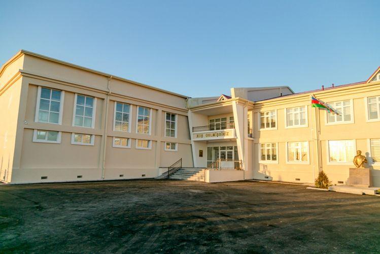 Bu rayonda Heydər Əliyev Fondunun təşəbbüsü ilə yeni məktəb binası inşa olunub