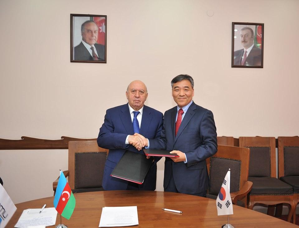 BMU ilə Cənubi Koreyanın İnha Universiteti arasında anlaşma memorandumu imzalanıb