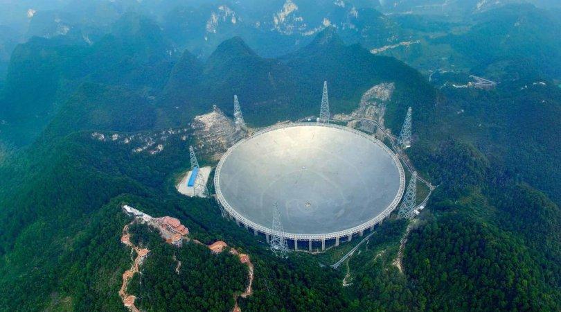 Dünyanın ən böyük teleskopu yerdənkənar intellektin axtarışı ilə məşğul olacaq