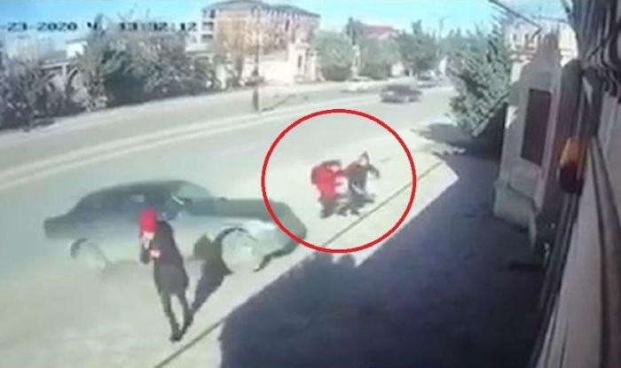 Xırdalanda məktəbliləri vuran avtomobilin sürücüsü tutulub