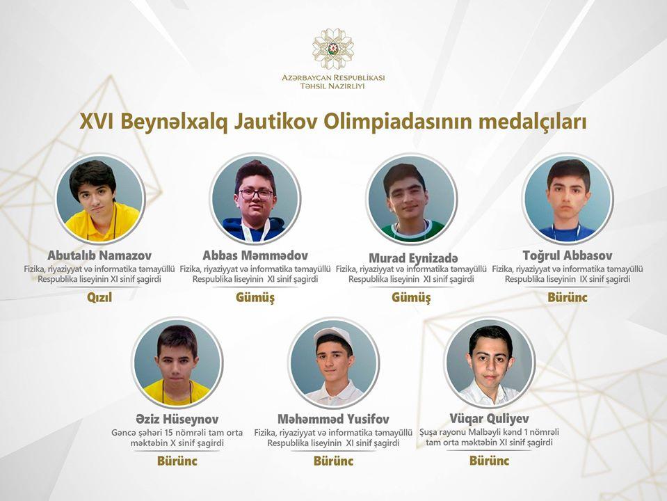"""Beynəlxalq olimpiada qaliblərimiz: """"Çox güclü ölkələri geridə qoyduq"""" –TƏƏSSÜRAT"""