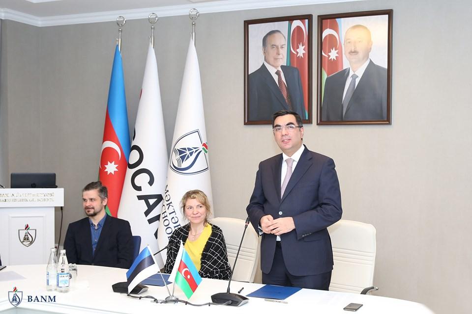 Bakı Ali Neft MəktəbiTallin Texnologiya Universiteti ilə əməkdaşlığa başladı