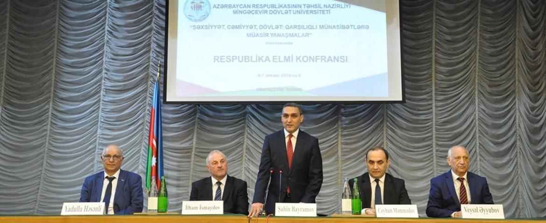 Mingəçevir Dövlət Universitetində keçirilmiş elmi konfransınmaterialları dərc olunub